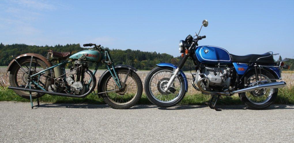 Sarolea 24u, 1929, Zustand 5 / BMW R100/7, 1978, Zustand 1-